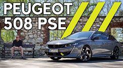 Peugeot 508 PSE - chuligan z trzema paskami