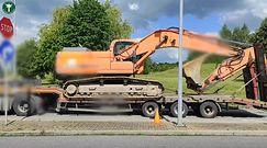 Kontrole ciężarówek w Małopolsce przez ITD. Funkcjonariusze odkryli szereg uchybień