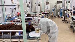 """""""Czarny grzyb"""" w Indiach. Śmiertelna infekcja u pacjentów z COVID-19"""