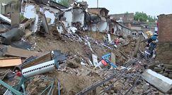 Ulewy przyniosły katastrofę. Ogromne zniszczenia w Chinach