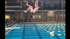 #dziejesiewsporcie: amatorzy mieli skakać do wody. Brutalne zderzenie z rzeczywistością!