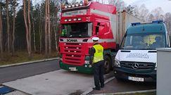 Inspektorzy transportu zatrzymali ciężarówkę. Wyniki ich kontroli zaskakują