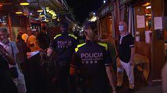 Grzywna do 15 tys euro. za łamanie zakazu. Nowe obostrzenia w Katalonii
