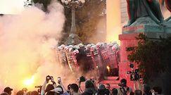 Protesty w Serbii. Brutalne starcia z policją. Wszystko przez koronawirusa