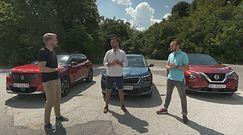 Skoda Kamiq, Nissan Juke, Peugeot 2008 - crossovery dla młodych