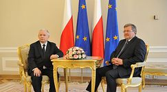 """Komorowski dostrzegł """"procesy gnilne"""" koalicji Kaczyńskiego"""