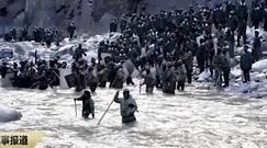 Konflikt Chin z Indiami. Chińska telewizja pokazuje nagrania starć