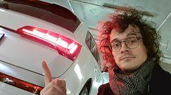 """Audi Q5 ze światłami OLED. Przydadzą się na """"siedzących na zderzaku"""""""