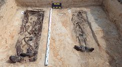 Polski i niemiecki żołnierz pochowani obok siebie. Zginęli tuż po wybuchu II wojny światowej