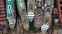 Cmentarzysko statków w Turcji. Tak pandemia uderzyła w turystykę