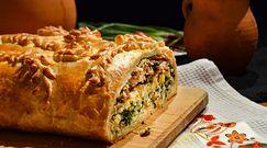 Wielkanocny, tradycyjny kulebiak