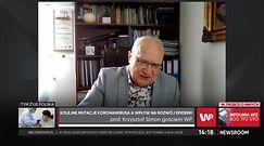 Mutacja indyjska w Polsce. Prof. Simon odpowiada