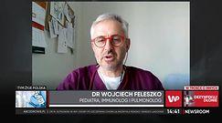 Szczepienia dzieci w Polsce. Dr Feleszko optymistycznie nastawiony