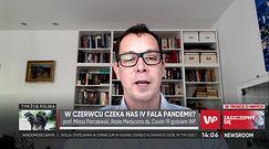 Prof. Parczewski: 4 fala zakażeń koronawirusem latem możliwa