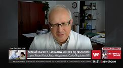Prof. Flisiak komentuje badania BioStatu dla WP
