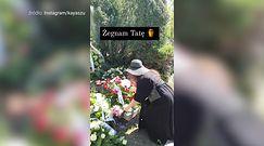 Kaya Szulczewska broni reklamowania rajstop na pogrzebie ojca