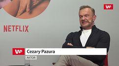 Cezary Pazura był zakompleksionym nastolatkiem. Gdyby nie to, nie zostałby aktorem