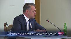 Prokuratura: Sławomir Nowak może uciec z kraju