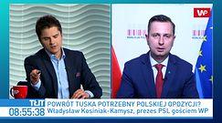 Zaskakujące doniesienia o Donaldzie Tusku. Władysław Kosiniak-Kamysz komentuje