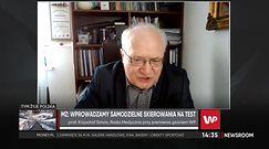 Prof. Krzysztof Simon o sytuacji epidemiologicznej w Polsce