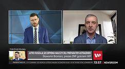 """Szczepionka na COVID. Michał Dworczyk dostał ripostę. """"Odwracanie kota ogonem"""""""