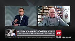Prof. Simon: odstęp pomiędzy dawkami szczepionki firmy Astra Zeneca jest kłopotliwy