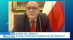 Strajk Kobiet. Piotr Zgorzelski: te protesty są na rękę Jarosławowi Kaczyńskiemu