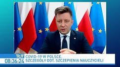 Szczepienia na COVID. Michał Dworczyk odpowiada Sławomirowi Broniarzowi