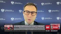 Michał Kuczmierowski o szczepieniach seniorów. Prezes ARM mówi, jakie są ograniczenia