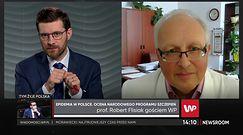 Prof. Flisiak: Nie obserwujemy pacjentów z reinfekcjami koronawirusem