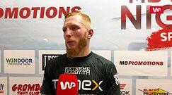 """Robert Parzęczewski po zwycięstwie na gali MB Boxing Night. """"Życie jest ciężkie"""""""
