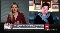 Coraz częstszy objaw zakażenia koronawirusem. Prof. Agnieszka Szuster-Ciesielska komentuje