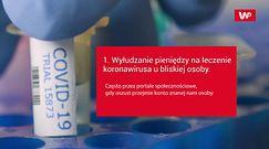 Oszustwo na koronawirusa. Policja ostrzega