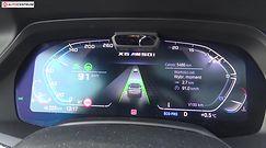 BMW X6 M50i 4.4 V8 530 KM (AT) - pomiar zużycia paliwa