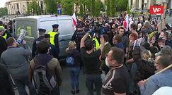 Strajk przedsiębiorców. Paweł Tanajno zatrzymany