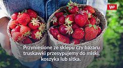 Jak przechowywać truskawki?