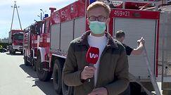 Płonie Biebrzański Park Narodowy. Reporter WP był w centrum dowodzenia strażaków