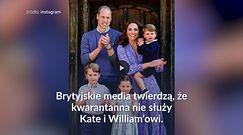 Kwarantanna źle wpływa na związek Kate i Williama?