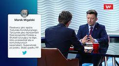 Dominik Tarczyński zaczepił w pociągu Adama Michnika. Jest reakcja Michała Dworczyka