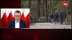 Koronawirus w Polsce. Będą kontrole w lasach? Paweł Szefernaker komentuje