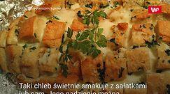 Chleb zapiekany z serem. Świetny sposób na czerstwe pieczywo
