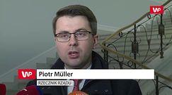 Piotr Müller o apelu KE: ktoś im czegoś naopowiadał