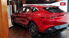 Aston Martin DBX. Super-SUV po raz pierwszy w Polsce