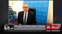 Stanisław Szwed o Konwencji Stambulskiej. PiS ma zastrzeżenia