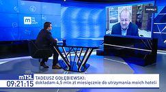 Tarcza antykryzysowa. Tadeusz Gołębiewski w mocnych słowach o oferowanej pomocy