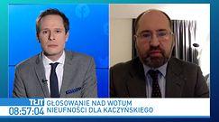 """""""Siadaj, pajacu!"""" w Sejmie. Adam Bielan komentuje"""