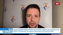 Rafał Trzaskowski: Ziobro ma rację. Chodzi o praworządność