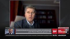 """Prof. Marcin Matczak komentuje działania policji na strajkach. """"Niegodne tej służby"""""""