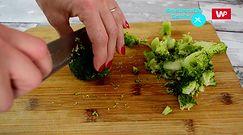 Sałatka warstwowa z brokułem