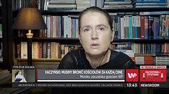 """Monika Jaruzelska komentuje wystąpienie Kaczyńskiego. """"To próba zaognienia konfliktu"""""""